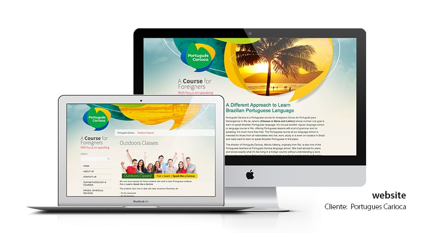 Portugues Carioca website